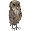 House Additions Standing Owl Garden Statue