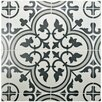 "EliteTile Artea 9.75"" x 9.75"" Porcelain Patterned/Field Tile in Gray"