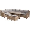 Prestington Wentworth 8 Seater Dining Set with Cushions