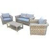 Prestington Windsor 4 Seater Sofa Set