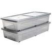 IRIS Plastic Underbed Storage Box (Set of 2)