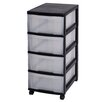 IRIS 4 Drawer Mobile Chest