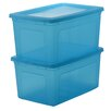 IRIS Modular Plastic Storage Box (Set of 2)