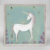 Harriet Bee 'Unicorn & Friend' by Creative Thursday by Marisa Framed Painting Print on Canvas