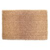 Elite Home Collection Natural Coco Coir Indoor/Outdoor Doormat