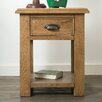 Hazelwood Home Glenmuir Side Table with Storage