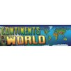 Frank Schaffer Publications/Carson Dellosa Publications Continents of The World Grade 4-8 Bulletin Board Cut Out
