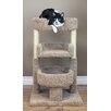 """New Cat Condos New Cat Condos Round 33"""" Triple Cat Perch"""