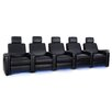 Freeport Park Power Recline Leather Row Seating (Row of 5)