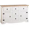 August Grove Angelina 2 Door 5 Drawer Sideboard