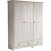 Beachcrest Home Fitzsimmons 3 Door Wardrobe