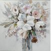 Vintage Boulevard Bouquet of Bright Flowers II Framed Wall Art on Canvas