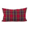Loon Peak Alvaro Classic Tartan Plaid Print Holiday Cotton Lumbar Pillow