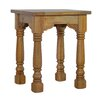 Hazelwood Home Petite Country Style Side Table