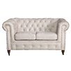 Home & Haus 2-Sitzer Chesterfield Sofa Oxford