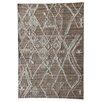 Caracella Beni Ourain Hand-Tufted Wool Grey Area Rug