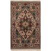 Bloomsbury Market Bertram Hand-Knotted Wool Cream/Light Olive Green Area Rug