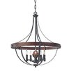 Feiss Alston 5 Light Foyer Pendant