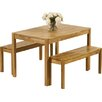 Red Barrel Studio Promo Dining Table and 2 Benches
