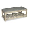 Homestead Living Bergen Coffee Table with Magazine Rack