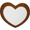 Wildon Home Heart Mirror