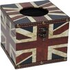 PM & PP LTD Union Jack Tissue Box Cover
