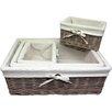 Wicker Valley 4 Piece Storage Wicker Basket Set