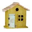Relaxdays Nesting Wooden Mounted Bird House
