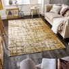 World Menagerie Rubalcaba Cream/Gold Area Rug