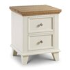August Grove Andora 2 Drawer Bedside Table