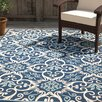 Bellingdon Blue Beige Indoor Outdoor Area Rug Amp Reviews