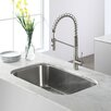 "Kraus Stainless Steel 32.25"" x 18.5""  Undermount Kitchen Sink"