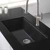 "Kraus 31"" x 17.09"" Granite Undermount Kitchen Sink"