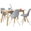 Fjørde & Co Frances Dining Set with 4 Chairs