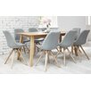 Fjørde & Co Frances Dining Table and 8 Chairs