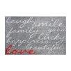 Pedrini LifeStyle-Mat Laugh with Love Doormat