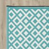 Riley Ave. Reese Blue/White Rug
