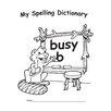 Edupress My Spelling Dictionary Book (Set of 4)