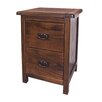 Bay Isle Home Ginsberg 2 Drawer Bedside Table