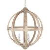 Pacific Lifestyle Harvey 3 Light Globe Pendant
