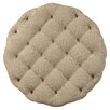 Accentrics by Pulaski Round Button Tufted Cocktail Ottoman