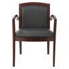 Alera® Leather Reception Lounge Guest Chair
