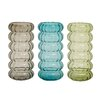 Cole & Grey Glass Vase (Set of 3)