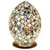 House Additions Mosaic Glass Egg Novelty Lamp
