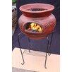Gardeco Asadro Redondo Steel Wood/Charcoal Chiminea