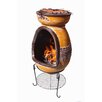 Gardeco Asadro Parilla Steel Wood/Charcoal Chiminea