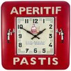 Roger Lascelles Clocks Square Tin Bistro Wall Clock