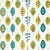 "York Wallcoverings Bistro 750 33' x 20.5"" Retro Leaves Wallpaper"