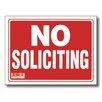 Bazic No Soliciting Sign (Set of 24)