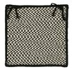 Colonial Mills Outdoor Houndstooth Tweed Chair Pad (Set of 4)